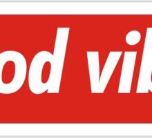 The Good Vibes x Supreme Sticker