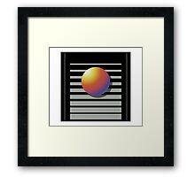 Vhs cover Framed Print