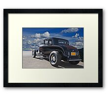 1932 Ford 'Lovered Coupe' 3Q Rear View Framed Print