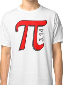 Pi Symbol Classic T-Shirt