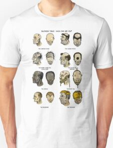The Baldness Table T-Shirt