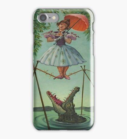 Haunted mansion umbrela iPhone Case/Skin