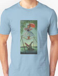 Haunted mansion umbrela T-Shirt