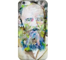 FYODOR DOSTOYEVSKY - watercolor portrait.6 iPhone Case/Skin