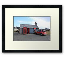 Ness Post Office, Lewis Framed Print