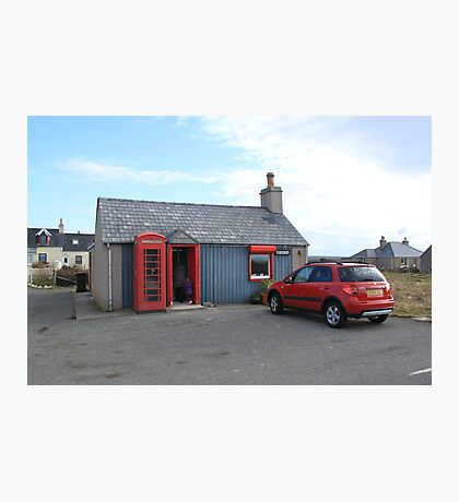Ness Post Office, Lewis Photographic Print