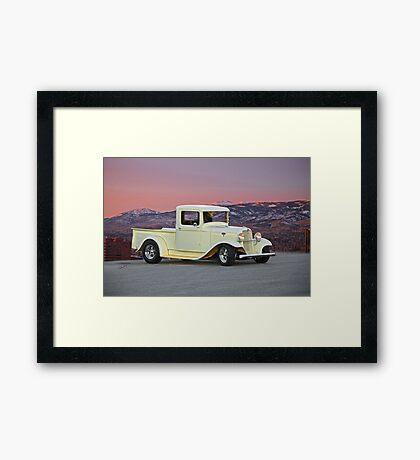 1934 Ford Pickup Truck Framed Print