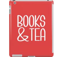 Books & Tea iPad Case/Skin