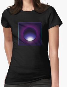 vhs cover sci-fi Womens Fitted T-Shirt