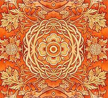 - Golden pattern - by Losenko  Mila