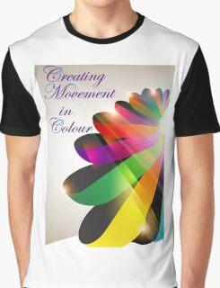 Ribbon Colour Graphic T-Shirt