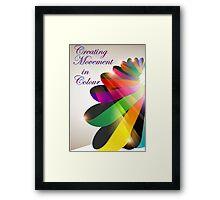 Ribbon Colour Framed Print