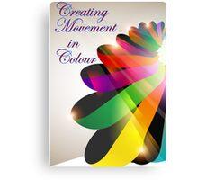 Ribbon Colour Canvas Print