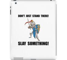 Knight Slay Something Cartoon iPad Case/Skin