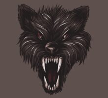 Angry werewolf Baby Tee