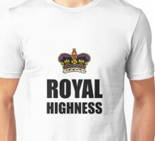 Royal Highness Crown Unisex T-Shirt