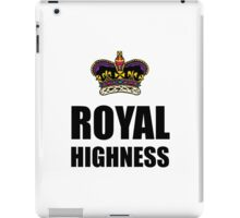 Royal Highness Crown iPad Case/Skin