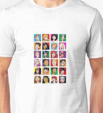 Archie Comics Yearbook  Unisex T-Shirt