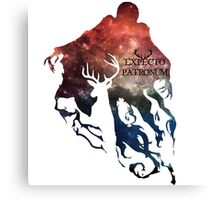 Expecto patronum shadow nebula Canvas Print