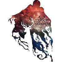 Expecto patronum shadow nebula Photographic Print