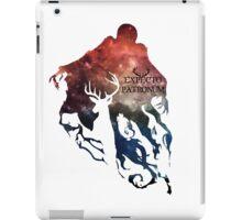 Expecto patronum shadow nebula iPad Case/Skin
