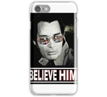 The Reverend Jim Jones of The Peoples Temple iPhone Case/Skin