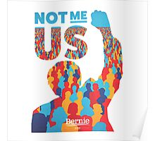 The Bernie Sanders US Poster
