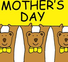 Happy Mother's Day from the triplets Sticker