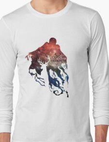 Expecto patronum shadow nebula Long Sleeve T-Shirt
