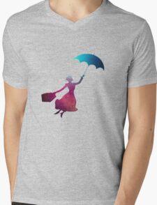 Mary Poppins Mens V-Neck T-Shirt