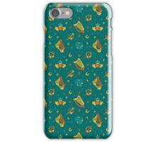 St. Patrick's green pattern iPhone Case/Skin