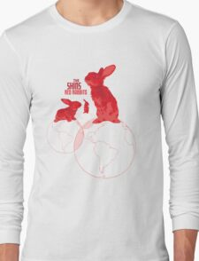The Shins Red Rabbits Long Sleeve T-Shirt