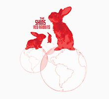 The Shins Red Rabbits Womens Fitted T-Shirt