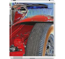Boat tail red iPad Case/Skin