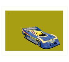 PORSCHE 917-30 CAN AM SPYDER Art Print