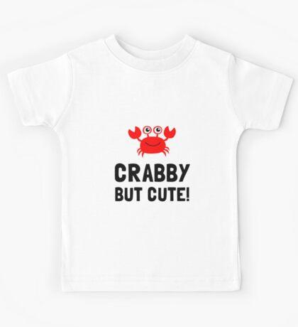 Crabby But Cute Kids Tee