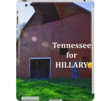 Tennessee for Hillary iPad Case/Skin