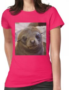 Fur seal Womens Fitted T-Shirt
