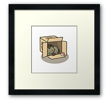Meowth's New Home Framed Print