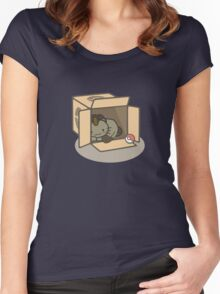 Meowth's New Home Women's Fitted Scoop T-Shirt