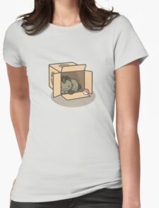 Meowth's New Home Womens Fitted T-Shirt
