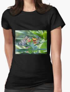 Butterfly Community Womens Fitted T-Shirt