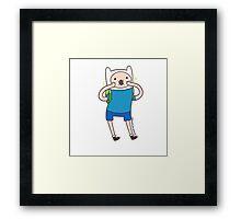Finn Chibi Framed Print