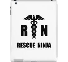 Rescue Ninja iPad Case/Skin