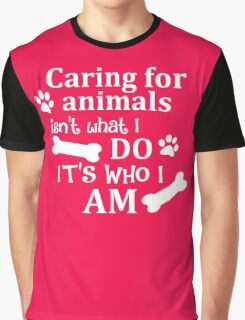 Caring For Animals Graphic T-Shirt