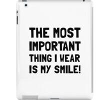Wear Smile iPad Case/Skin