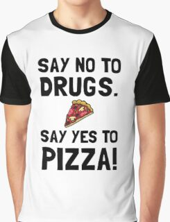 Yes To Pizza Graphic T-Shirt