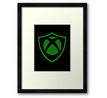 XBOX WEAPON SHIELD!! Framed Print