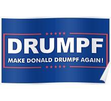 Donald Drumpf Logo Poster