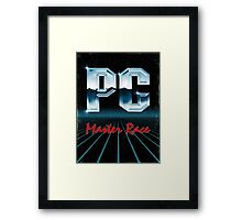 PC 80s Framed Print